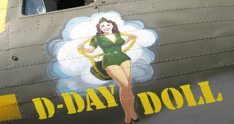 pinup aircraft nose-art 1942 - 1945